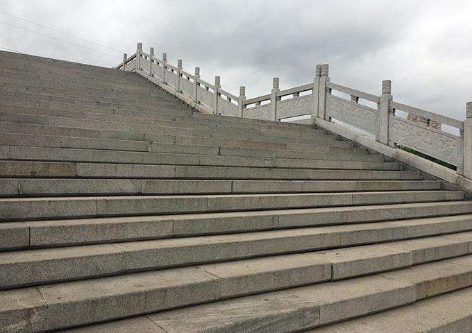 石桥栏杆台阶
